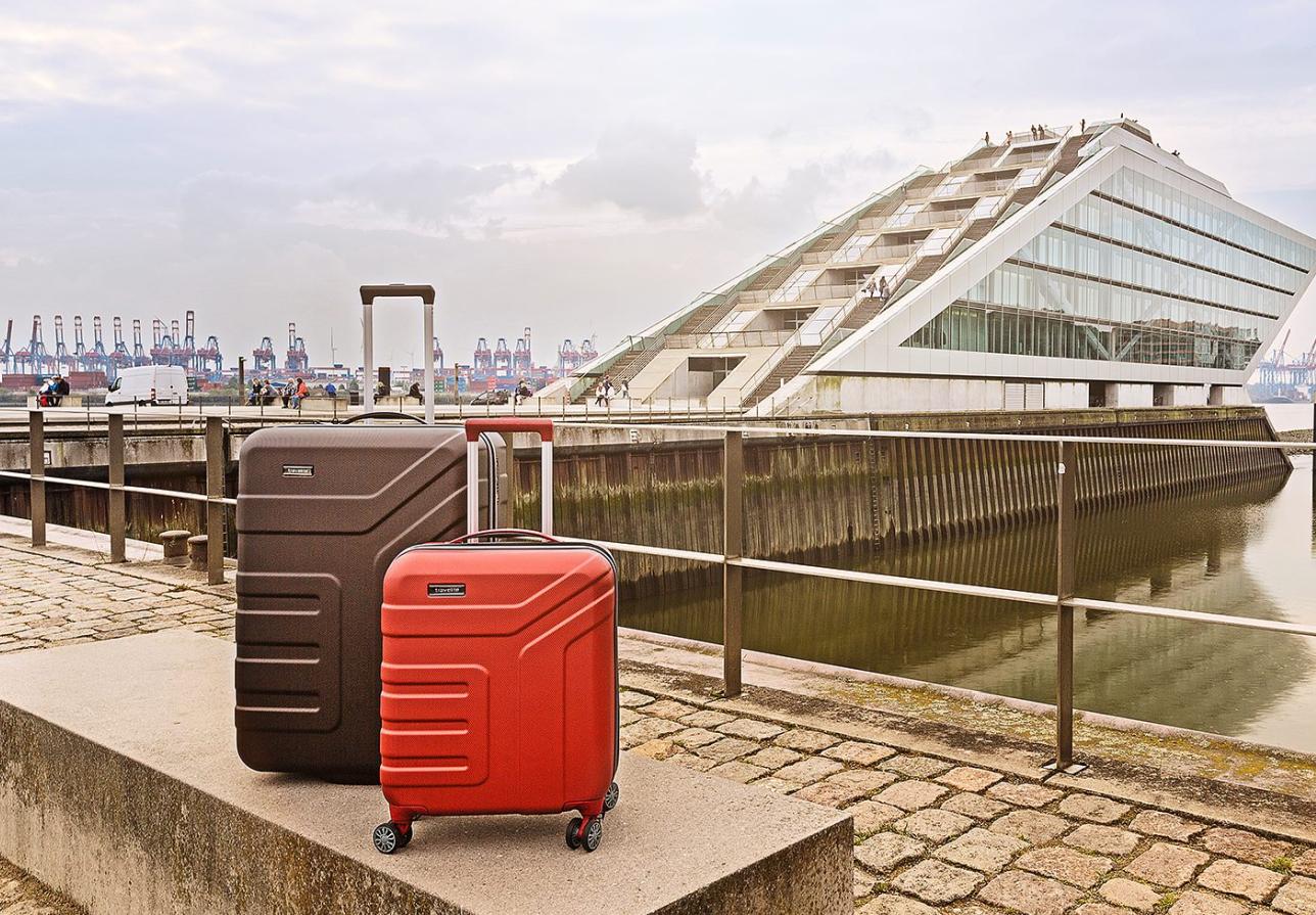 Skořepinové kufry Travelite